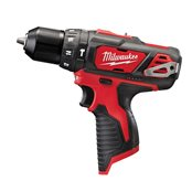 TRAPANO AVVITATORE COMPATTO CON PERCUSS.  12V MILWAUKEE M12 BPD-0.