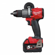 TRAPANO AVVITATORE 18V  MILWAUKEE FUEL IN2 + 2 BATT. 5 AH  M18 FPD2-502X.
