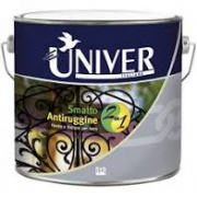 SMALTO ANTIRUGGINE 2in1  UNIVER  BASE NEUTRA  LT 0,750  (10MQ/LT ).