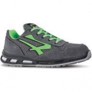 SCARPE U.POWER POINT VERDE S1P  SRC  ESD.ULTRA TRASP. PELLE SCAMOSC.
