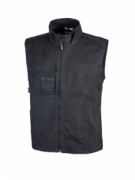 GILET COTONE ELASTIC. STRETCH  U.POWER MOD. WAVE BLACK CARBON 200 GR.