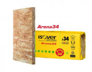 ISOVER ARENA34  LANA MINERALE PANNELLL 60X145 CM.  MM 45.